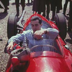 8ec76b71c7c The unforgotten italian  F1 driver Lorenzo Bandini in his  Ferrari cockpit