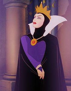 Favorite Disney character alphabet meme: Q- is for Queen Grimhilde Walt Disney, Disney Films, Disney Villains, Disney Love, Disney Magic, Disney Pixar, Disney Characters, Snow White 1937, Snow White Prince