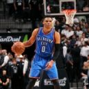 Westbrook leads Thunder past Spurs 95-91 for 3-2 lead (Yahoo Sports)