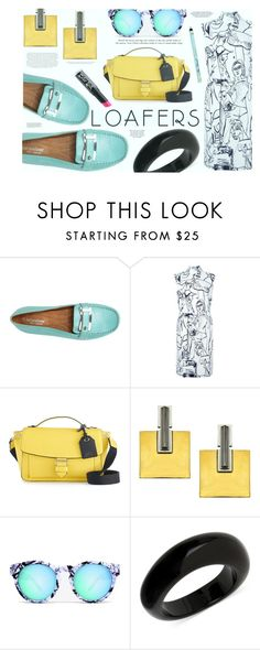 """""""Fall Footwear Trend: Loafers"""" by katarina-blagojevic ❤ liked on Polyvore featuring Emilio Pucci, Reed, Envi, Quay and INC International Concepts"""