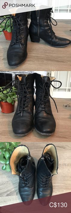 Spotted while shopping on Poshmark: Frye Lace Up Leather Boots! Frye Boots, Bootie Boots, Ankle Boots, Leather And Lace, Leather Boots, Plus Fashion, Fashion Tips, Fashion Trends, Victorian Fashion