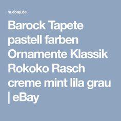 Tür #Tapete Rokoko in Rosa   Barock/Rokoko   Pinterest   Rokoko ...