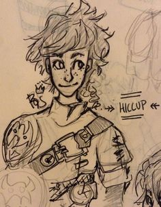 Hiccup! By @rohinicupcake