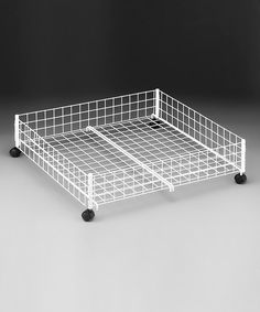 Look at this Rolling Underbed Cart on #zulily today!