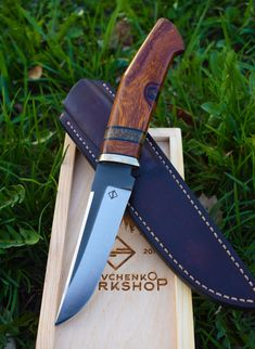 handmade knife by Sergey Savchenko