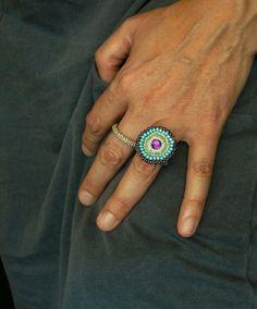 * Häkelring  * von crochet.jewels auf DaWanda.com