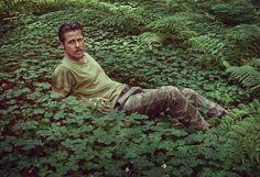 Brad Pitt, a Photo Portfolio by Mark Seliger   Details