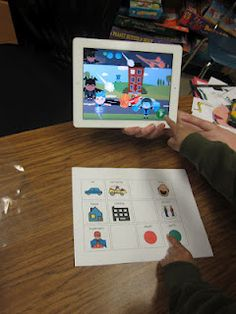 Communication boards to go along with your Ipad games