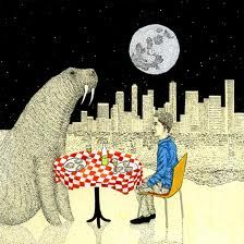 Walrus & I Real Eats Editorial Illustration Wordless Book, Weird And Wonderful, Beautiful Things, Ap Art, Tumblr, Custom Art, Cool Art, Awesome Art, Cool Things To Make