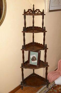 Vintage Wooden Wall Shelves