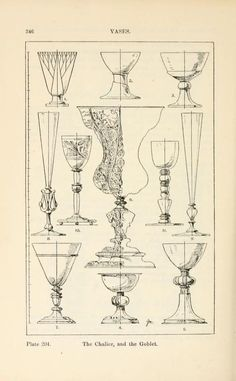 A handbook of ornament; vases the chalice,and the goblet pg 346