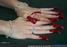 Women With Long Nails You Never Seen Before (38 Photos)