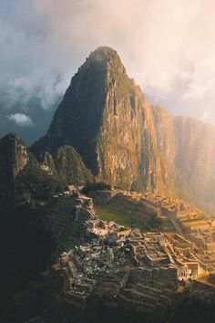 Spectacular misty mornings in Machu Picchu. Did you know Machu Picchu was built around I always imagined it was way older. Machu Picchu, Adventure Tours, Adventure Time, Places To Travel, Places To See, Ancient City, Ancient Ruins, Peru Beaches, Destinations