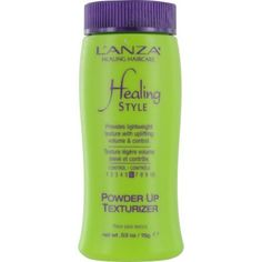 Lanza Healing Style Powder Up Texturizer for Unisex, 0.53 Ounce by L'anza. $15.50. Allows natural movement & separation that lasts throughout the day.. Hold Factor: 6 of 10. Provides lightweight texture with uplifting volume & control.. Save 26% Off!