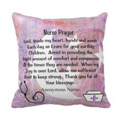 Christian Nurse Prayer Pillow Nurse Retirement Gifts eb8bcc492
