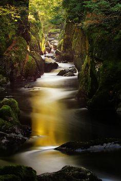 Fairy Glen in Wales
