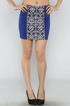 Tribal Mini Skirt #wholesale #clothing #fashion #love #ootd #wiwt #skirts #mini #spring