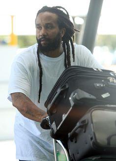 Kymani Marley Photo - Ky-Mani Marley Departing Perth Airport