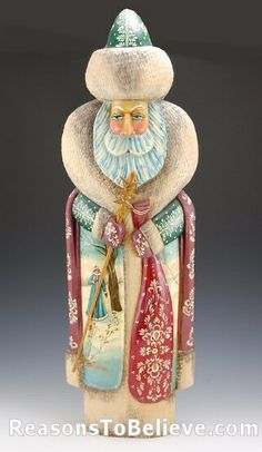 Old World Russian Santa