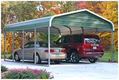 Metal Carports and Carport Building Kits from AlansFactoryOutlet.com