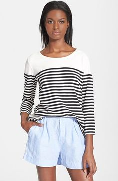 Joie 'Korie' Stripe Tee available at #Nordstrom