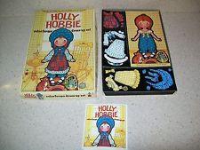Holly Hobbie Colorforms Dress-Up Set~1975 American Greetings