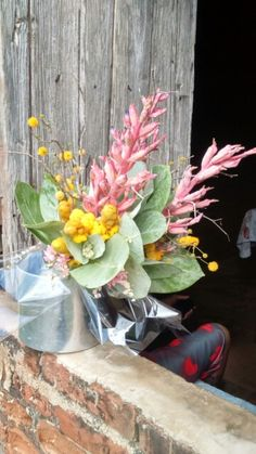 Caatinga flower arrangement by Rafael Gomes Brandão