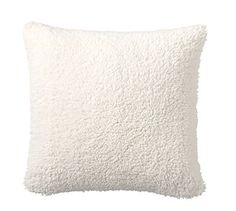 Faux Sheepskin Pillow Cover #potterybarn