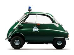BMW Isetta police car.