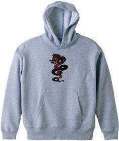蛇野郎 : SHAKABUG [半袖Tシャツ [6.2oz]] - デザインTシャツマーケット/Hoimi(ホイミ)