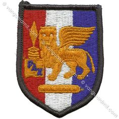 Army Patch: Africa and Southern European Task Force - color