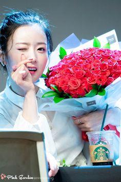 Yoon Bomi Apink❤180713 Beautiful Moments, Most Beautiful, Pink Panda, Cube Entertainment, Love And Respect, Baekhyun, Korean Girl, Girl Group, Presents