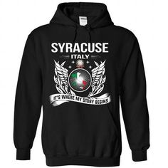 I Love Syracuse - Its Where My Story Begins! T shirts