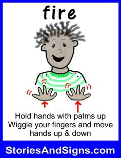 Learn to sign the word. C's books are fun stories for kids that will easily teach American Sign Language, ASL. Each of the children's stories is filled with positive life lessons. You will be surprised how many signs your kids will learn!
