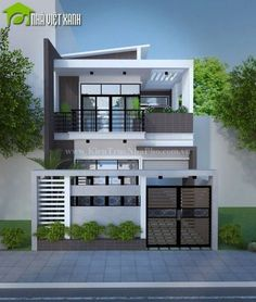 ✔ 39 new modern exterior design ideas for your house 30 > Fieltro. Two Story House Design, Modern Small House Design, 2 Storey House Design, Duplex House Design, Simple House Design, House Front Design, Minimalist House Design, Modern House Plans, Modern Zen House