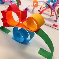 In the Art Room: Getting to Know You Paper Sculptures
