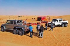 A ride in the mad 6x6 Mercedes-Benz G63 AMG | GulfNews.com Click on the photo for more about this incredible machine.