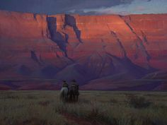 cc-Lipking-Riders-Under-Vermilion-Cliffs-30x40