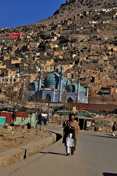 Kabul, Afghanistan by Naseer Najwa