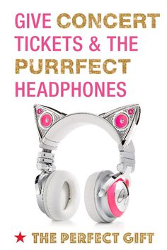 Get your holiday shopping started early and give an amazing experience like tickets to their favorite concert and the purrfect Brookstone Bluetooth Ariana Grande Cat Headphones. They'll love unwrapping such a thoughtful present. Because the perfect gift brings people together. For more inspiration, check out Macy's Holiday Gift Guide for an expertly edited collection of the perfect gifts.