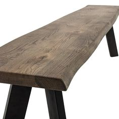 Our magnificent Raw Dining Bench is a modern take on the traditional refectory stool design. Dimensions: x x cm Materials: Oak wood top, black iron legs Max weight: Care instructions: Wipe clean with a moist cloth Delivery weeks Kitchen Updates, Updated Kitchen, Black Stool, Bench Designs, Handmade Kitchens, Outdoor Furniture, Outdoor Decor, Scandinavian Design, Cleaning Wipes