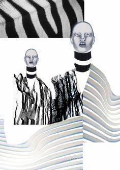 Fashion Portfolio - fashion illustrations; fashion sketchbook // Stephanie Lai