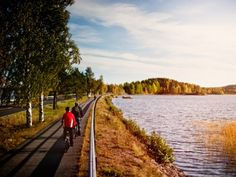 Finland's largest lake network surrounds you almost wherever you go and there is no shortage of places to stop off for a break.
