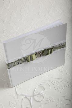 Sheer elegance wedding guest book #elegantwedding #weddingguestbook
