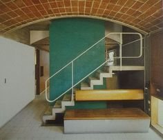 Le corbusier - le maisons jaoul 1954 via the cosmic inspiro-cloud Arch Interior, Interior Stairs, Interior And Exterior, Le Corbusier, Bauhaus, Architecture Details, Interior Architecture, Chinese Architecture, Futuristic Architecture