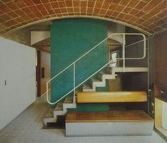 Le corbusier - le maisons jaoul 1954 via the cosmic inspiro-cloud