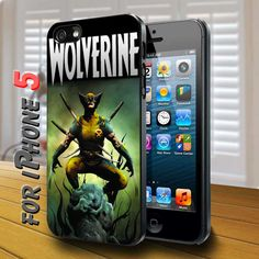 wolverine Black Case for iphone 5