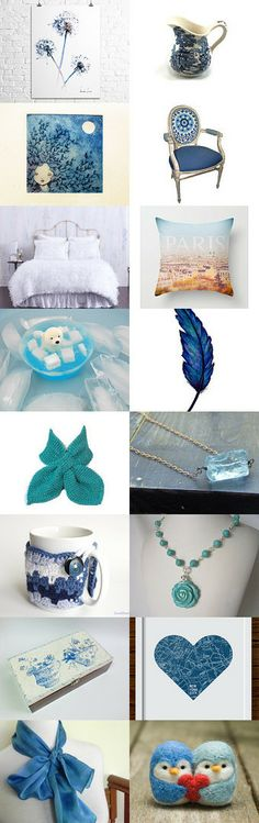 Winter Blue by Julia Christopherson on Etsy--Pinned with TreasuryPin.com