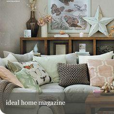 by Raft Furniture Ideal Home Magazine, Scandi Home, Fabric Sofa, Leather Fabric, Furniture Making, Future House, Teak, Solid Wood, Lounge