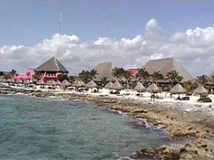 Costa Maya Beach Complex: Chairs and hammocks line the man-made beach for sunning or relaxing, but the rocky beach does not offer good ocean swimming. There is, however a nice salt-water pool with a swim-up bar. Oh The Places You'll Go, Great Places, Places To Travel, Places Ive Been, Places To Visit, Costa Maya Mexico, Cozumel Mexico, Cruise Destinations, Cruise Vacation